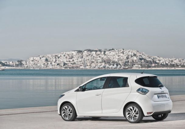 Renault Reveal Electric Car Zoe