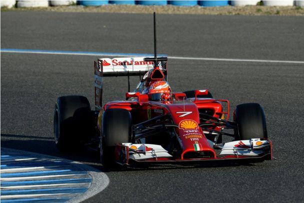 Mercedes F1 W05 vs Ferrari F14 T: A Side-by-Side Pictorial